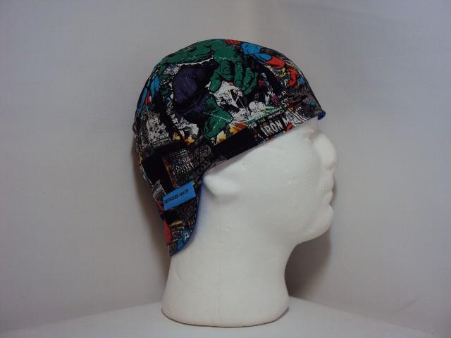Marvel Comic Book Covers Welding Hat