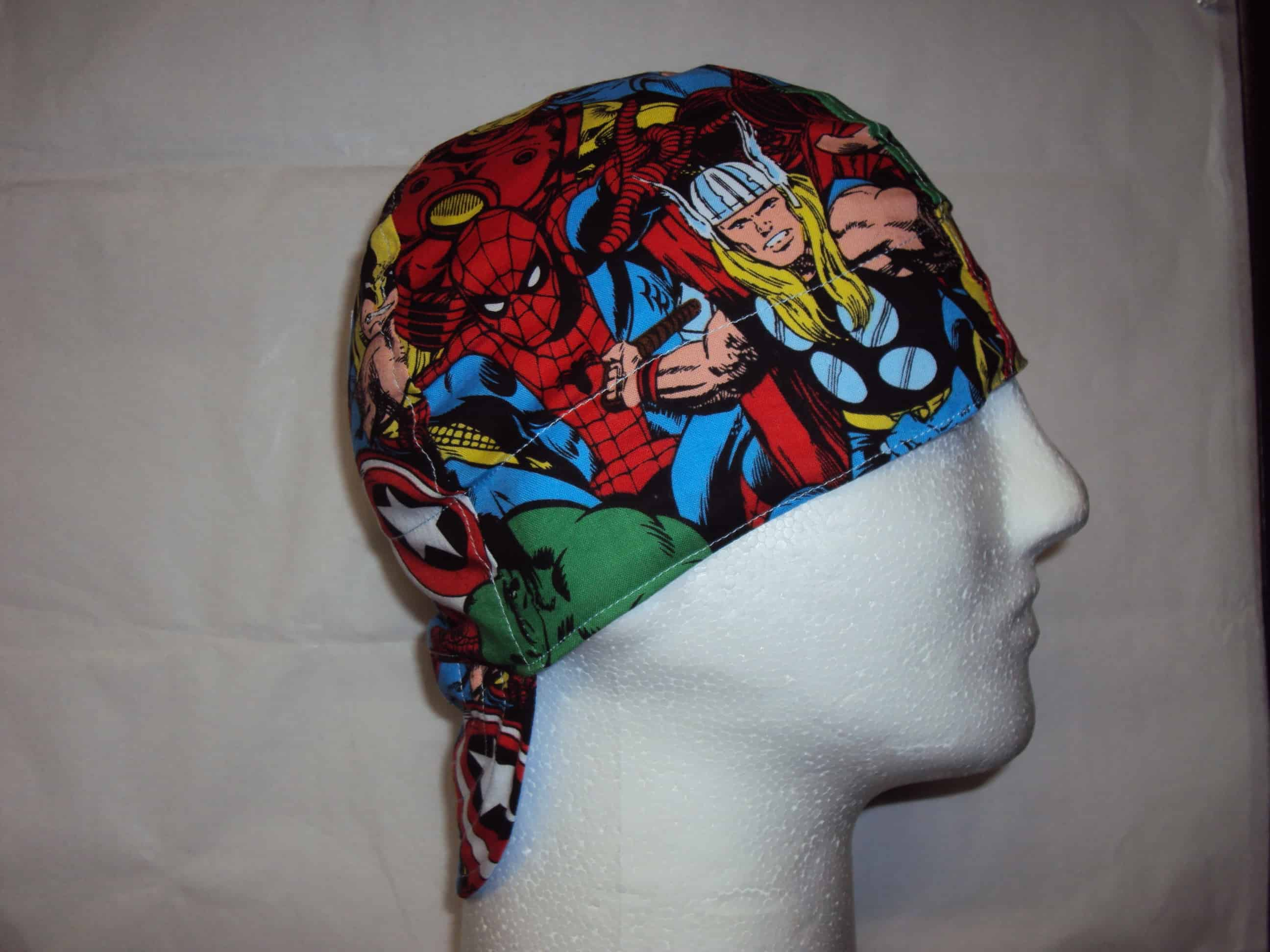 Comic Book Superheroes Welders Cap
