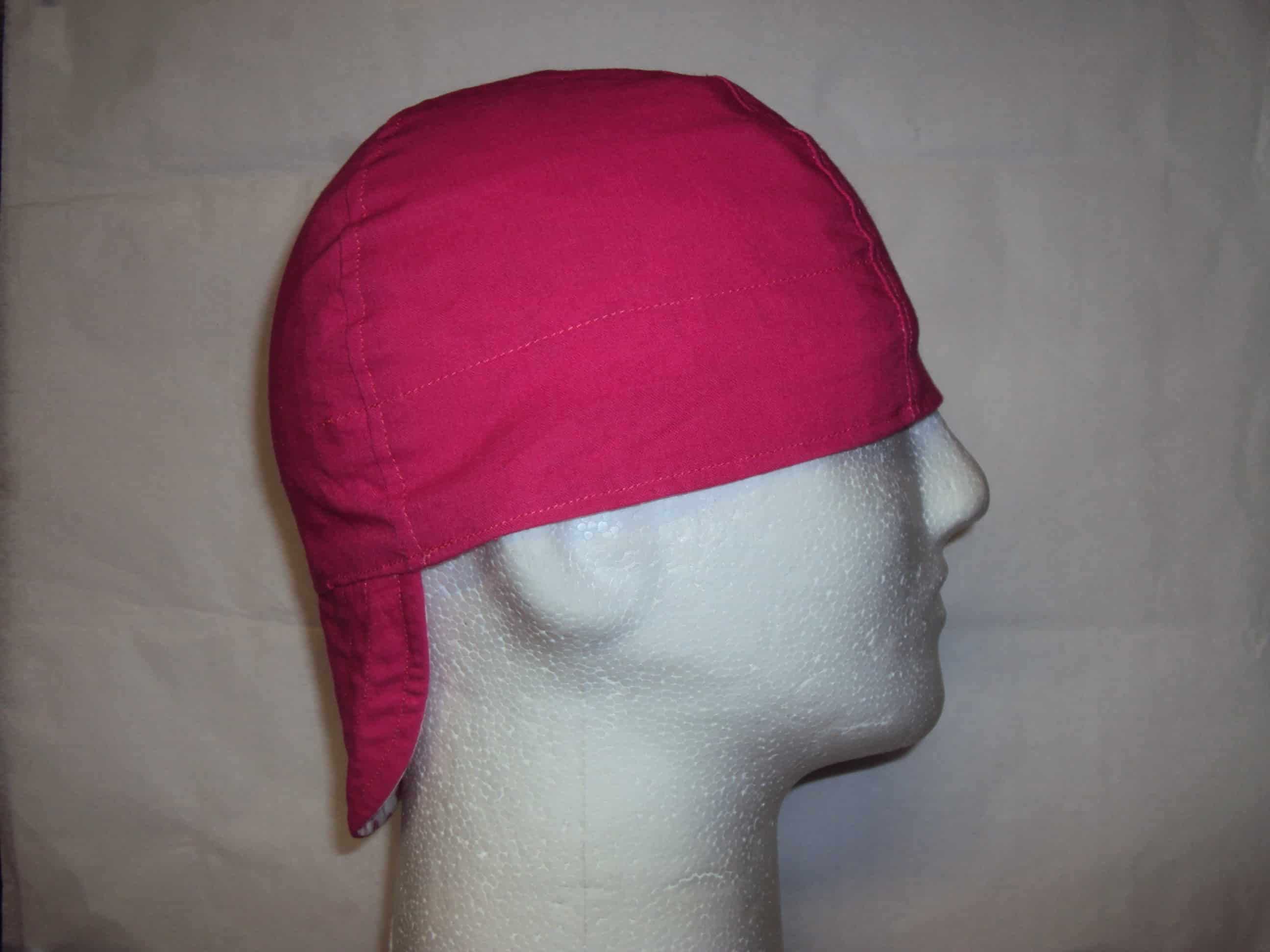 All Hot Pink Welding cap