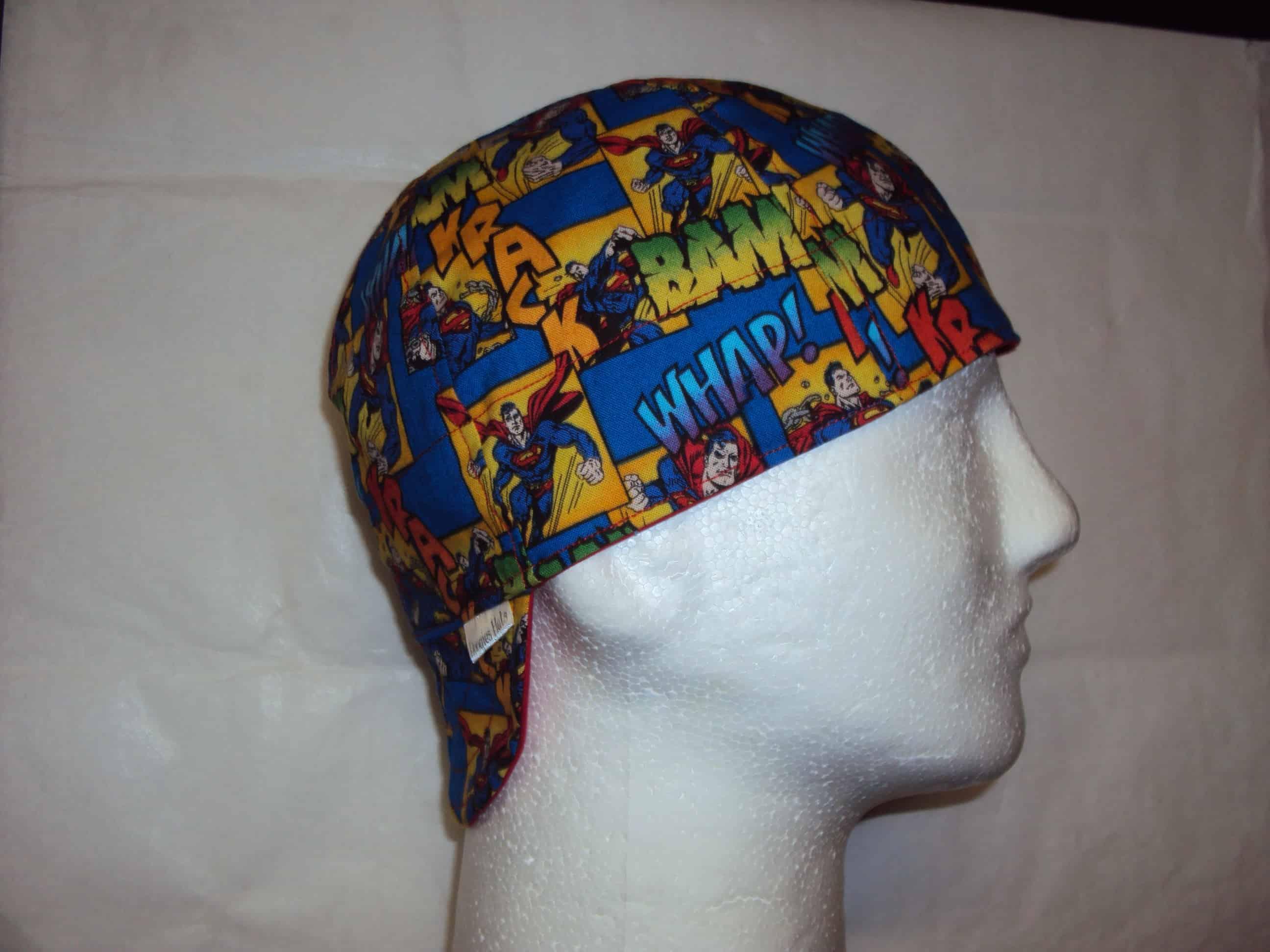 Action Superman Welders Hat