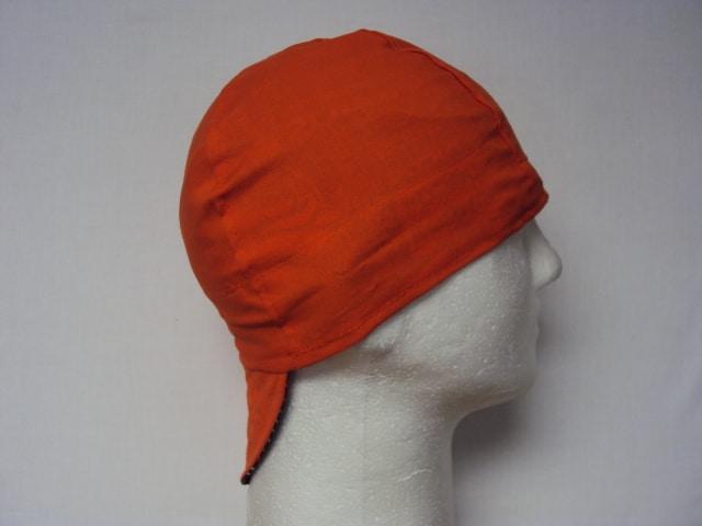 All Blaze Orange Beanie Welding Cap