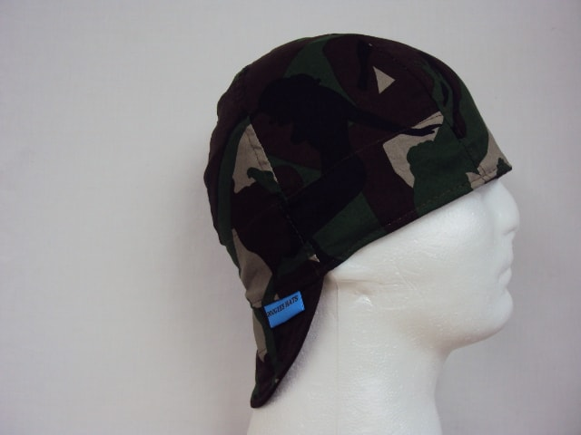 Camouflage Pin Up Girls Welding Cap