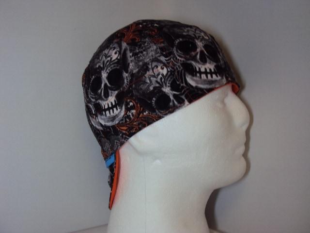 Skulls And Spiders Welding Hat