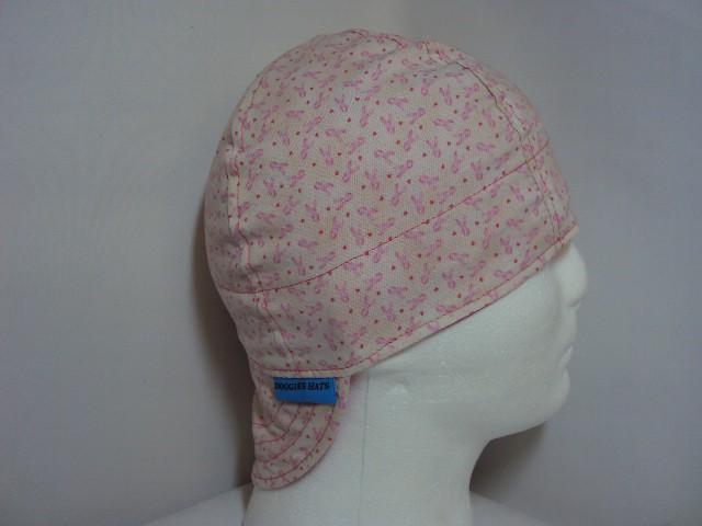 Breast Cancer Awareness Small Print Welders Cap