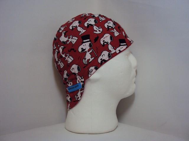 Snoopy Mustache Welding Hat