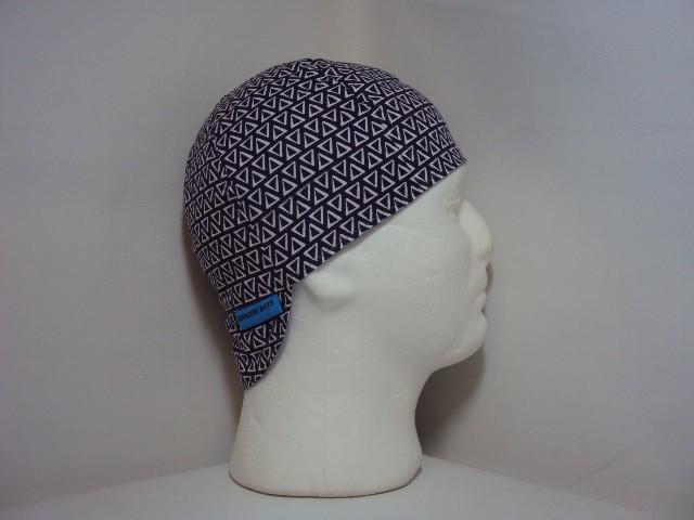 Purple Triangles Welders Hat