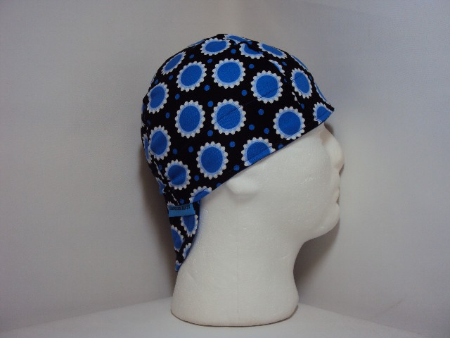 Blue Dots Welders Cap