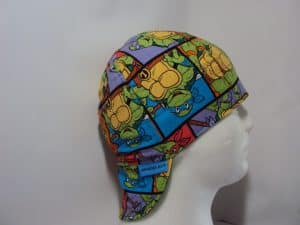 Ninja Turtles Block Welding Cap