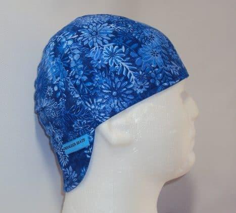 Royal Flowers Welding Cap