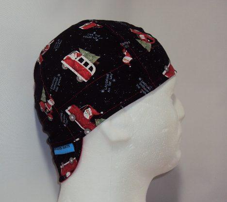 Santa All Over Welders Cap