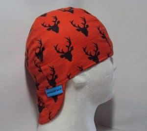 Black Big Buck Welding Cap