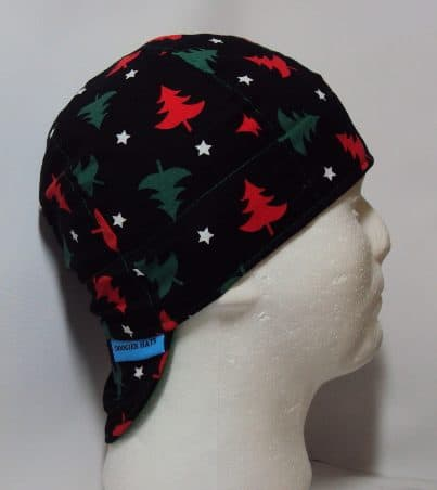 Christmas Trees Welding Cap