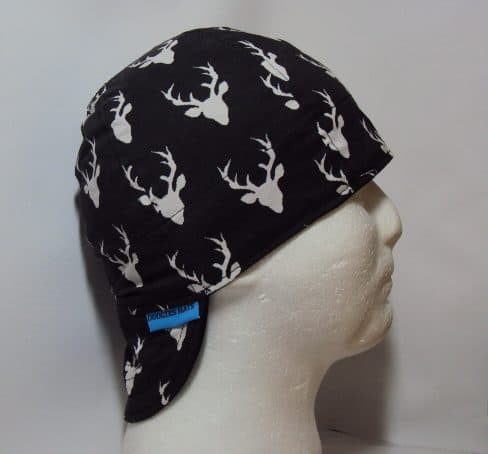 66d39df3d09 Black Big Buck Welding Cap. Customizable 100% cotton hand made ...