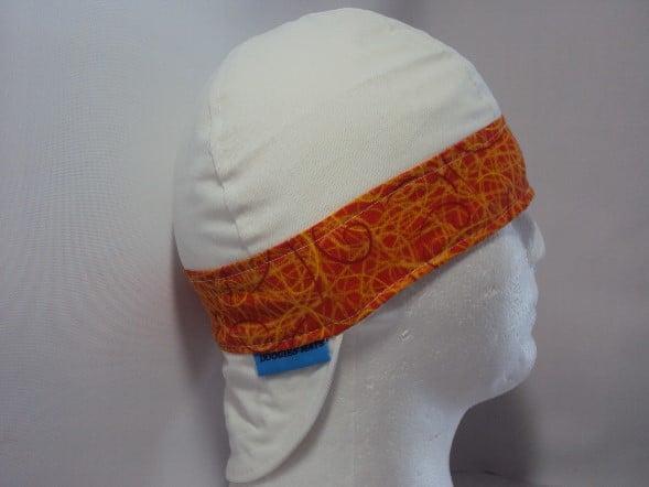 Scribble Color Band Welding Hat