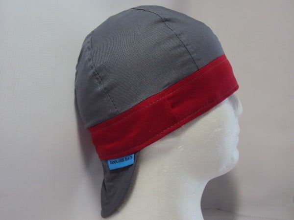 Solid Color Band Welding Hat