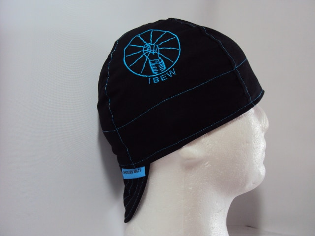 Embroidered IBEW Fist Welding Cap