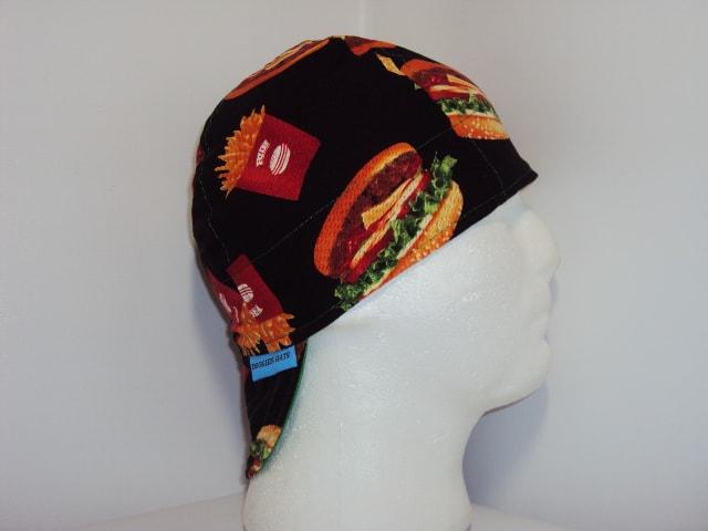 Burger And Fries Welding Cap
