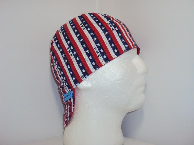 USA Stipes Welding Cap