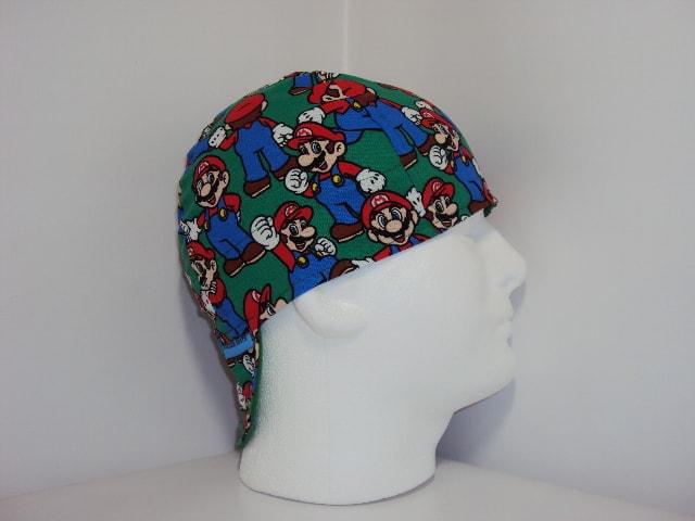 Mario Welding Cap