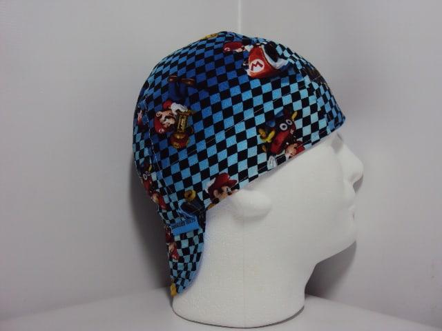 Mario Cart Welding Cap