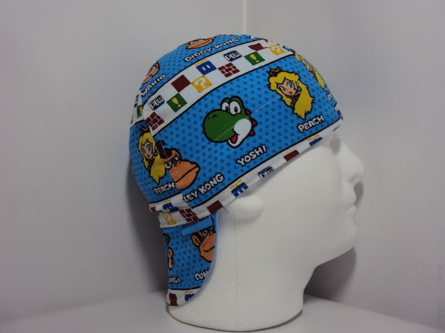 Mario And Friends Welding Hat